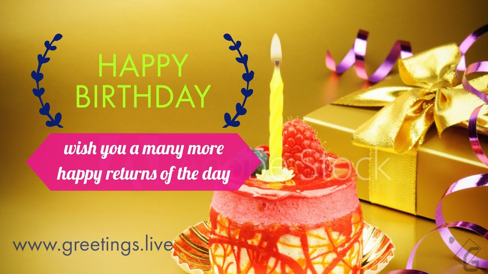 Wish You A Many More Happy Returns Of The Day Greetingslive