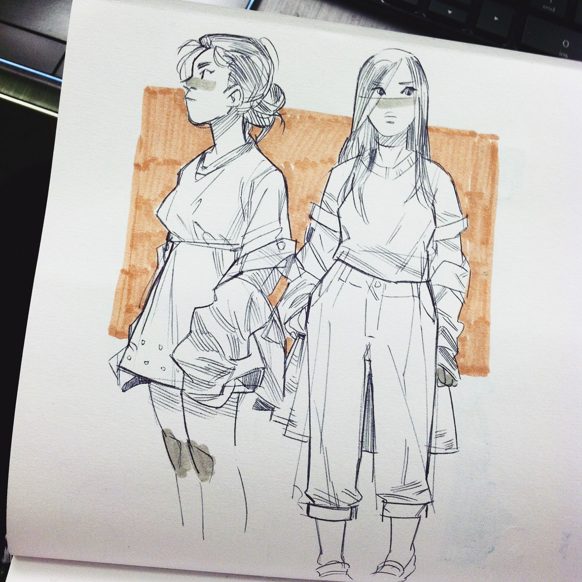 Sketchbook,Early 2015 on Behance