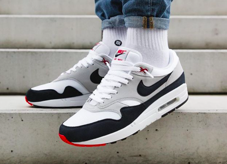 3b6ab0349f93 Release Reminder  Nike Air Max 1 OG Anniversary Obsidian