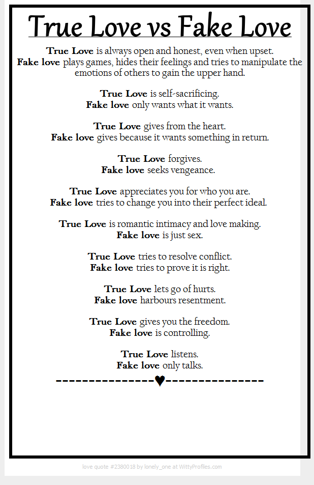 True Love Vs Fake Love Emotional Vampires Are Not Capable Of True Love They Truly Love Attention Manipulation Relationship Quotes Love Quotes Life Quotes
