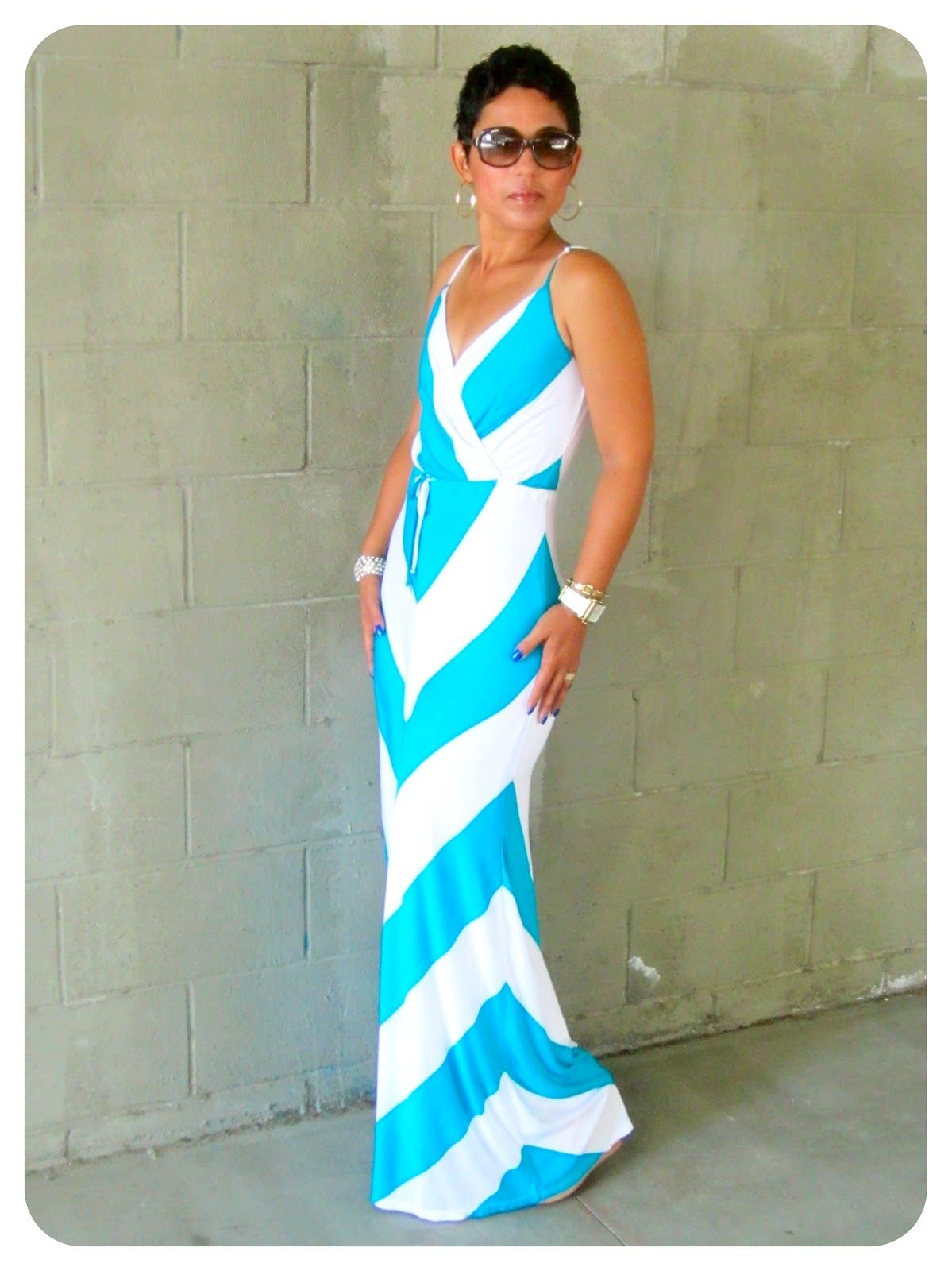 I LOVE this dress...I might have to recreate it. mimi g. is rockin ...