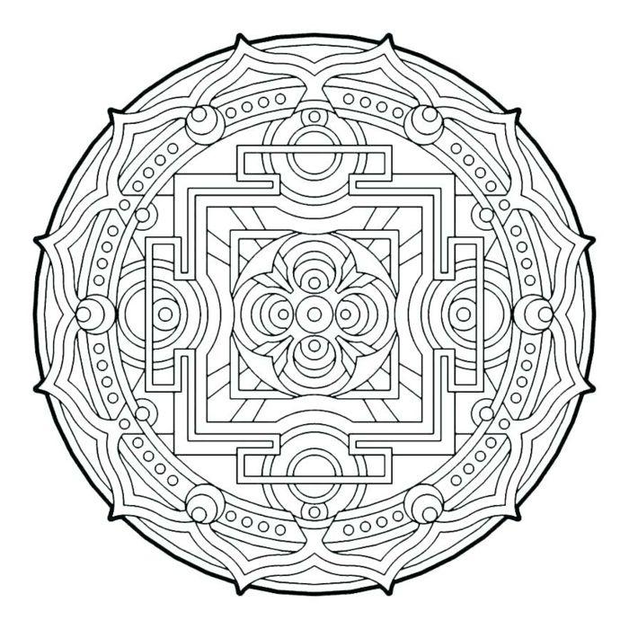 1001  ideen für originelle und kreative mandalas für