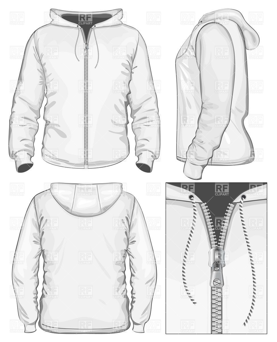 Women\'s Long Full Zip Sweater Fashion Flat Template | Zip sweater ...