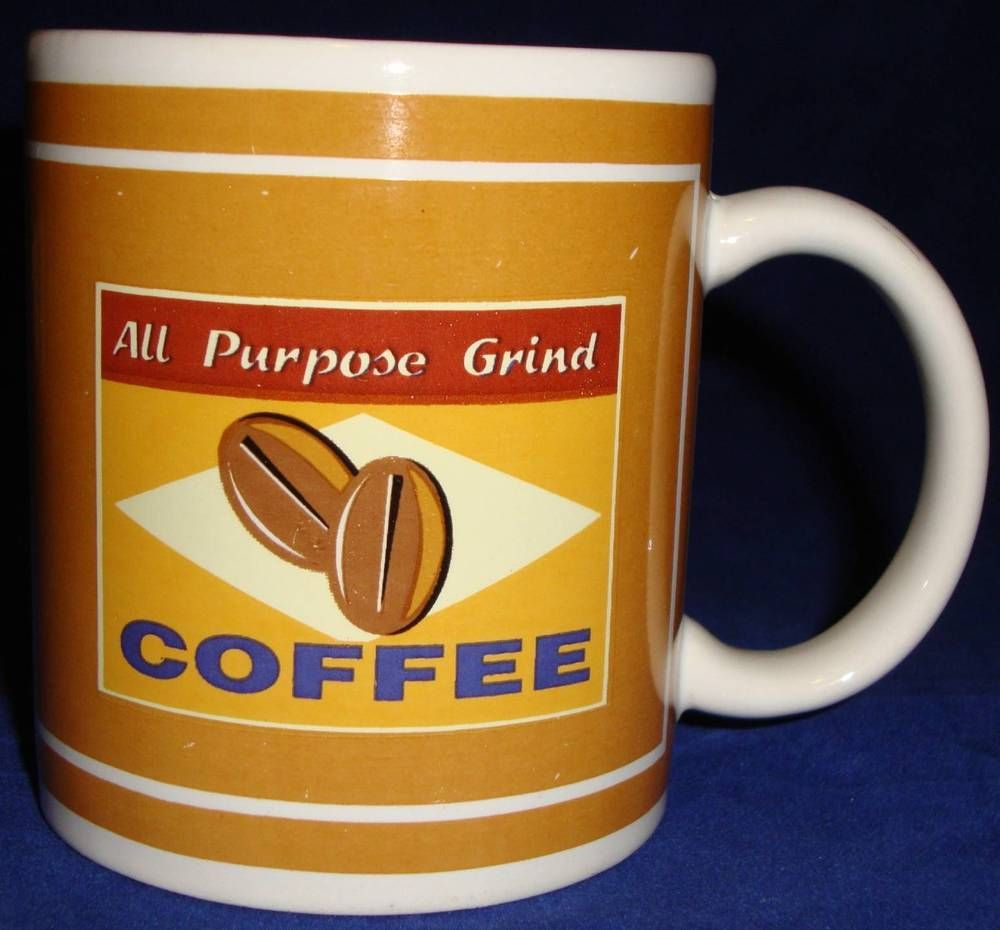 All purpose grind coffee cup houston harvest mug kitchen