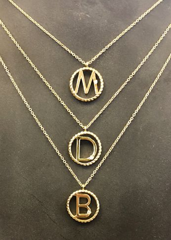 Yellow gold diamond letter pendants initial diamond letters yellow gold diamond letter pendants aloadofball Images