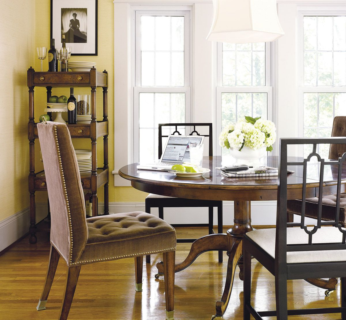 Hickory Chair Kimball Table Dining room furniture