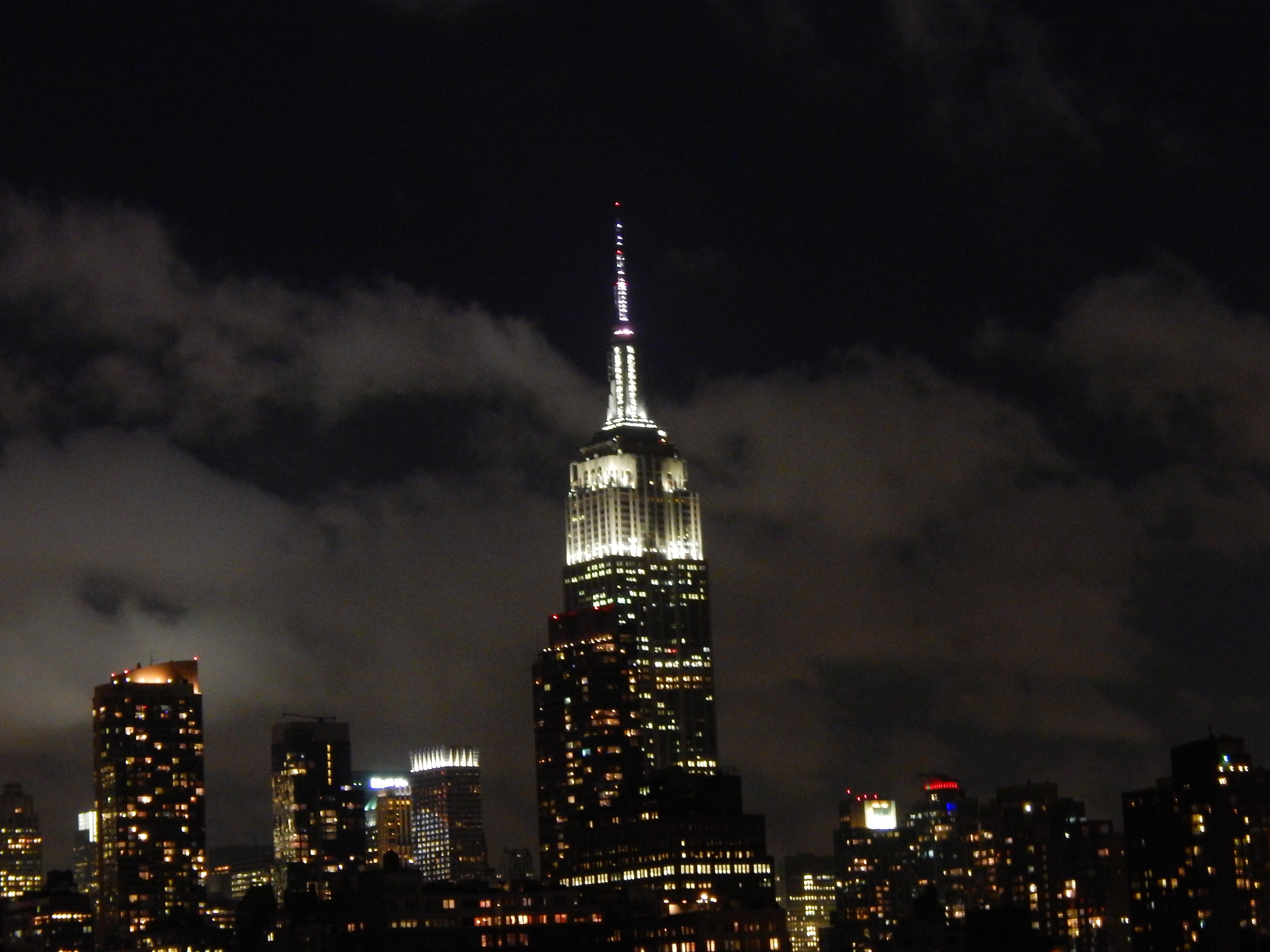 Dream downtown rooftop empire state building tower light
