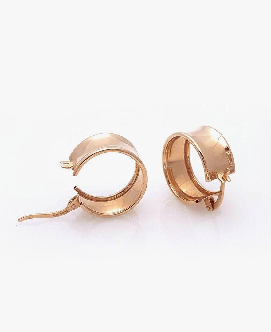 Argollas De Rosa Golden 18k Aretes Oro Rosagolden Earings Gold 18k Rosegold Ring Earrings Earrings Stud Earrings