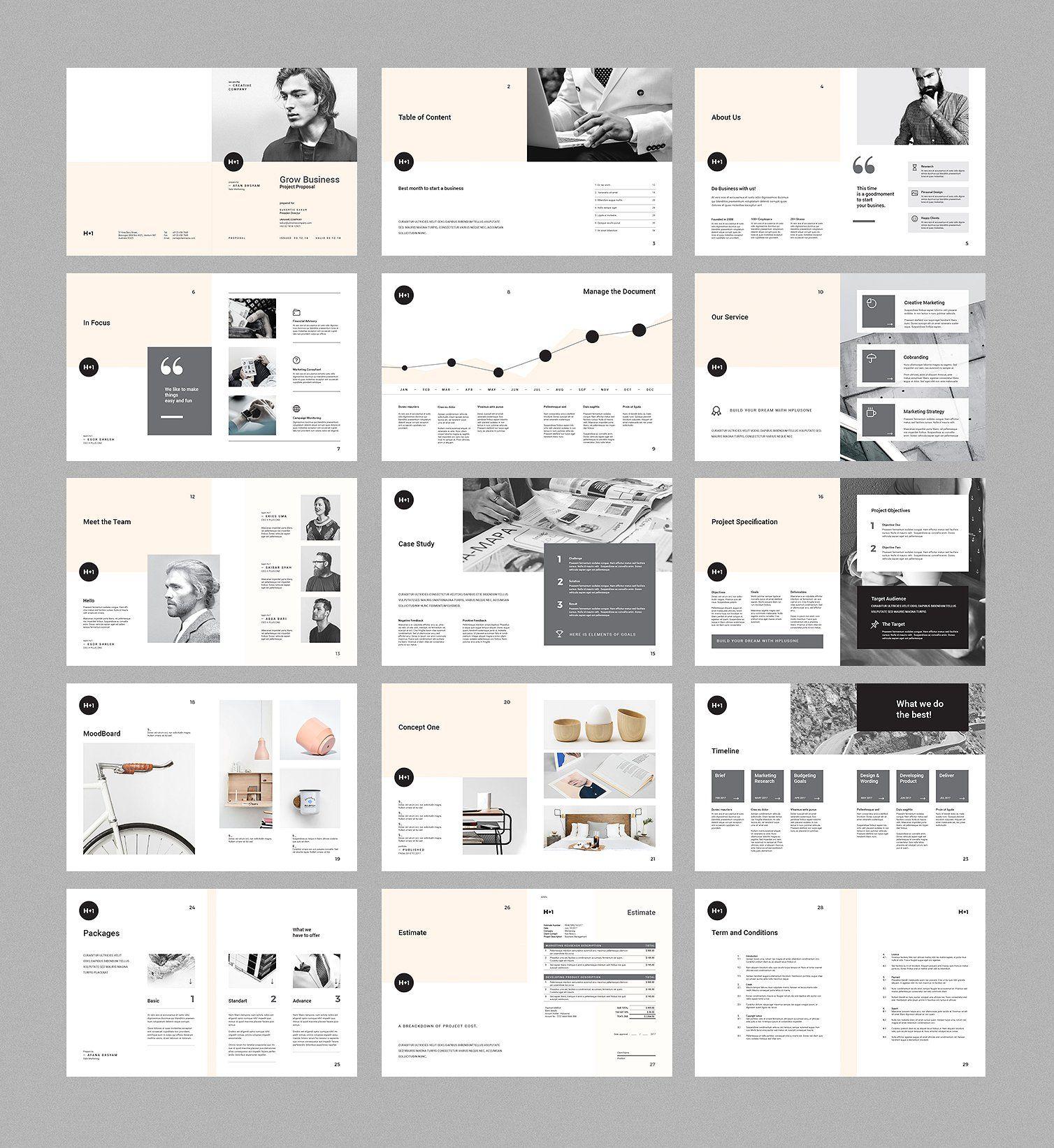 Project Proposal By BOXKAYU On @creativemarket