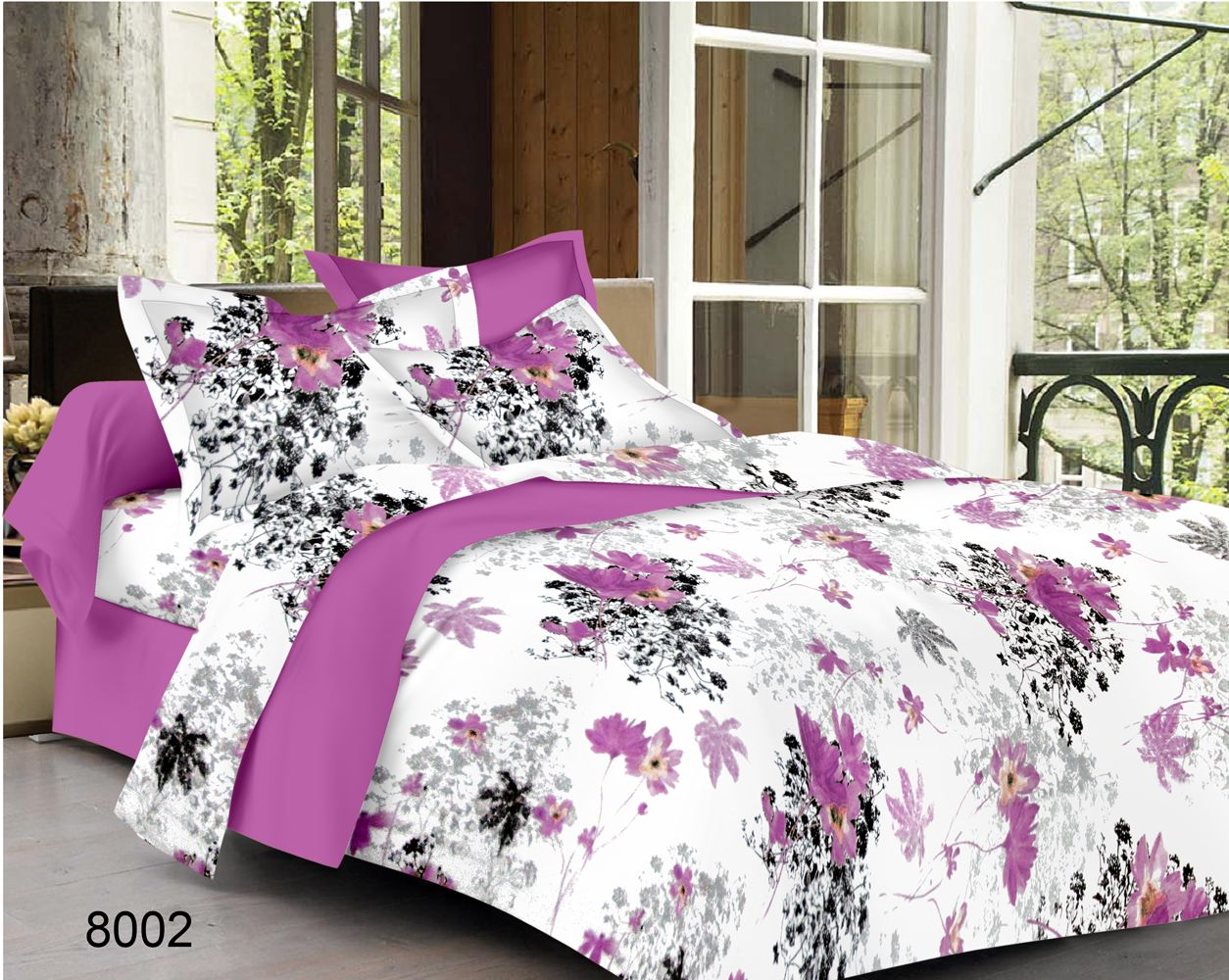 Buy luxurious-8 cotton bed sheet lowest price shopping,Printed ...