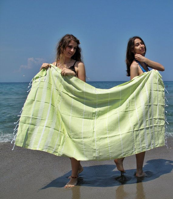 Turkish Beach TowelStriped TowelPink Striped TowelBeach by loovee