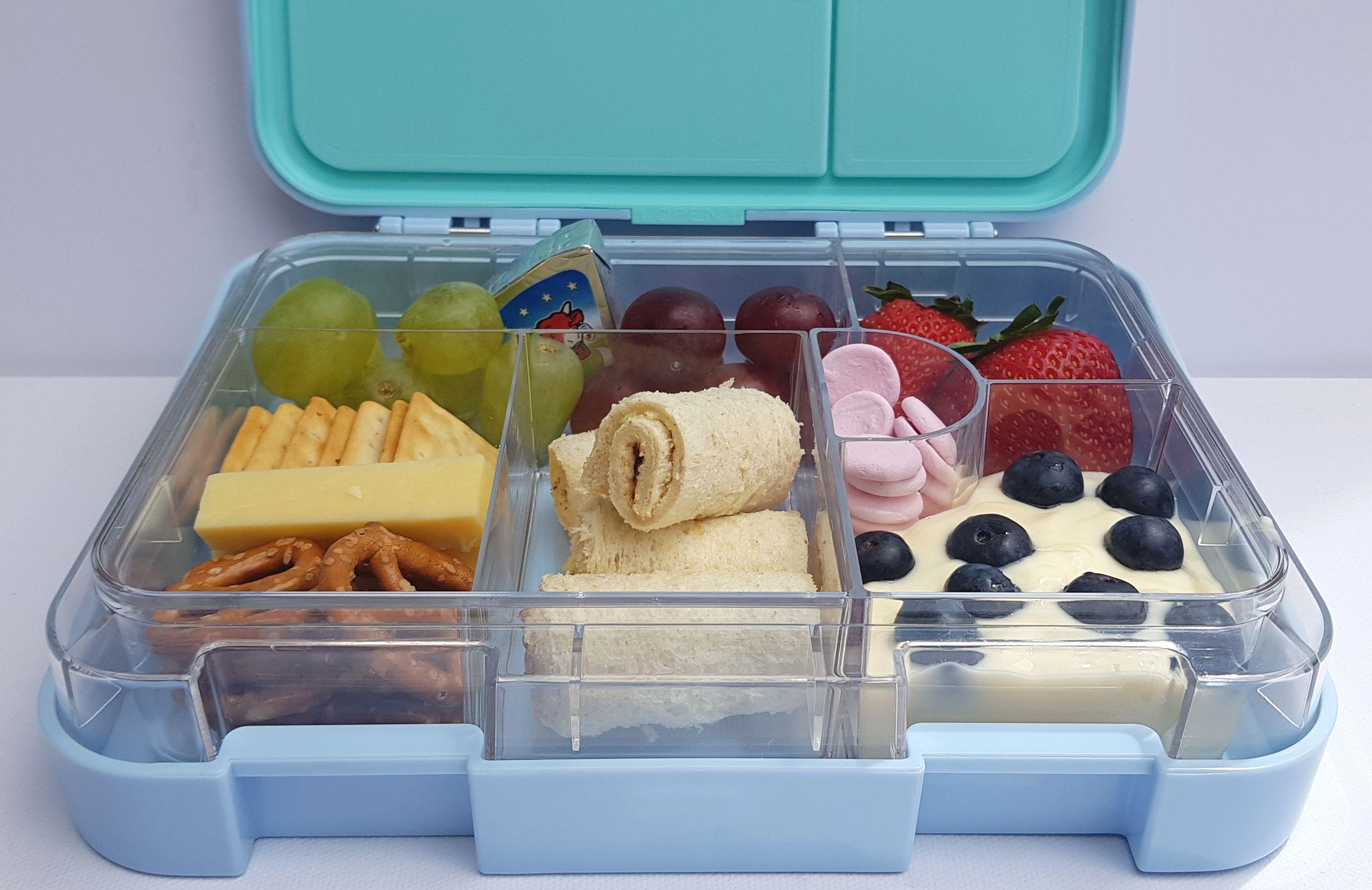 Light blue bento lunchbox bento box lunch lunch box bento
