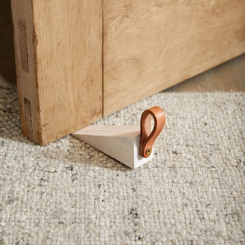 Photo of Wooden Door Stop | Decorative Accessories | The  White Company
