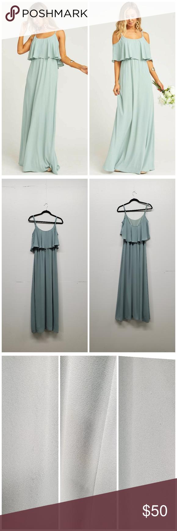 26+ Caitlin ruffle maxi dress silver sage crisp ideas in 2021