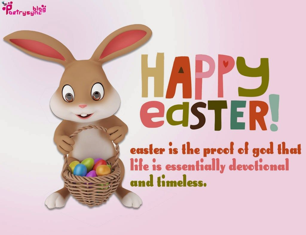 Happy Easter Greetings with pictures and poems 3