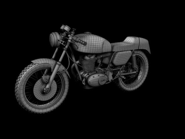 3D Model Motorbike | fbx obj ma 3ds c4d - 3D Squirrel | 3D Car