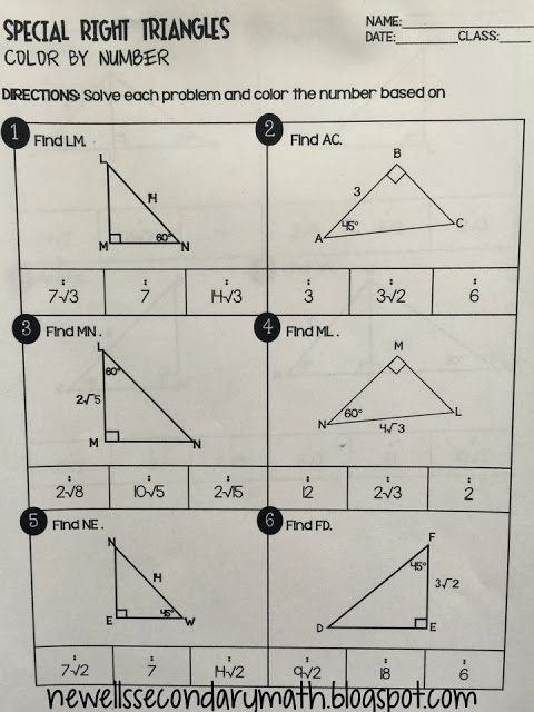 Right Triangles   Geometry Special Right Triangles Practice Riddle furthermore  also Good Special Right Triangles Worksheet 2 Or Special Right Triangles also Geometry Special Right Triangles Worksheet Answers   Siteraven further 45 45 90 Special Right Triangle   Practice HW by Eric Douce   TpT furthermore Math Worksheets Grades 1 6   Right Triangle Trigonometry Worksheets in addition  moreover Right Triangle 30 60 90 Problems and Answer Key   TpT likewise Special Right Triangles Color By Number   Right Triangles   Special besides Right Triangle Worksheet Trig Worksheet Right Triangle Trig furthermore  likewise Geometry Similar Triangles Worksheet Math Similar Triangles in addition Special Right Triangles Interactive Notebook Page   Geometry together with  additionally Quiz   Worksheet   Characteristics of Special Right Triangles together with Pictures Geometry Special Right Triangles Worksheet  Geometry. on geometry special right triangles worksheet