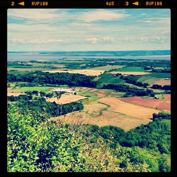 #AnnapolisValley #LookOff #NovaScotia #Vacation #Beautiful #Green #Views #Maritimes #PicoftheDay #Instagood