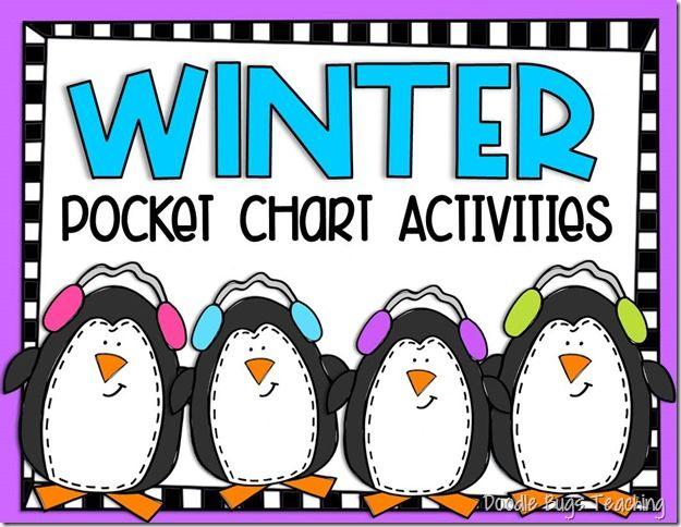 Winter Pocket Chart Activities