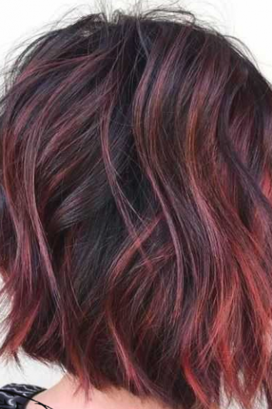 Hair Color Ideas For Brunettes With Red Hair Color Ideas For Brunettes In 2020 Brunette Hair Color Short Hair Color Hair Color Unique