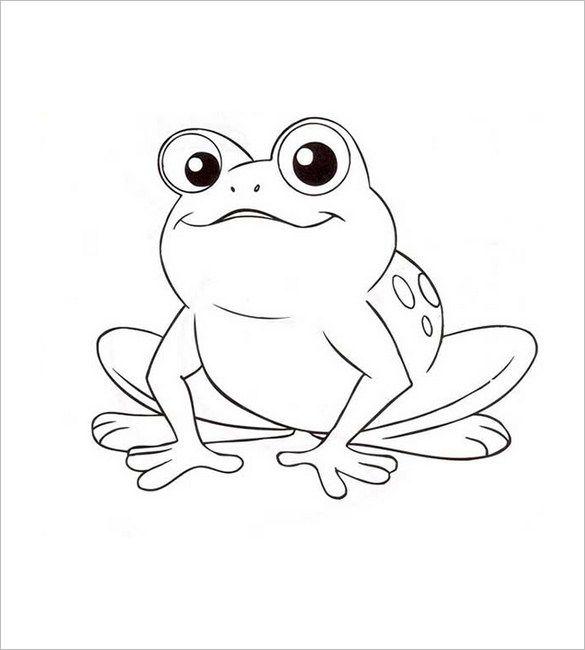 Animal Templates Free Premium Templates Frog Coloring Pages Animal Templates Animal Coloring Pages