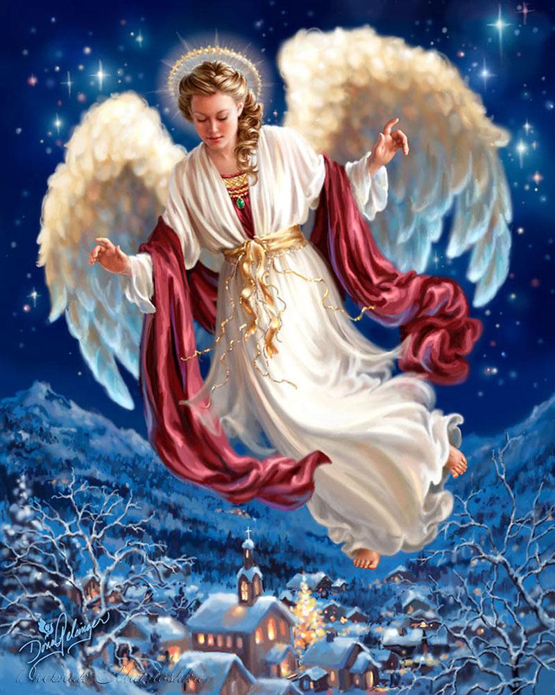 Рождественские картинки ангел