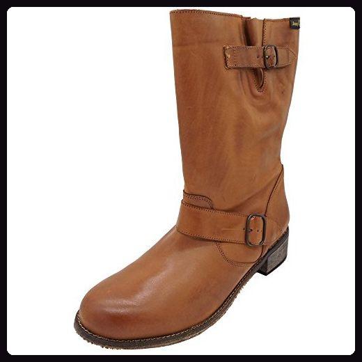 Jonny's Damen Stiefeletten Boots Grau, Größe:44: