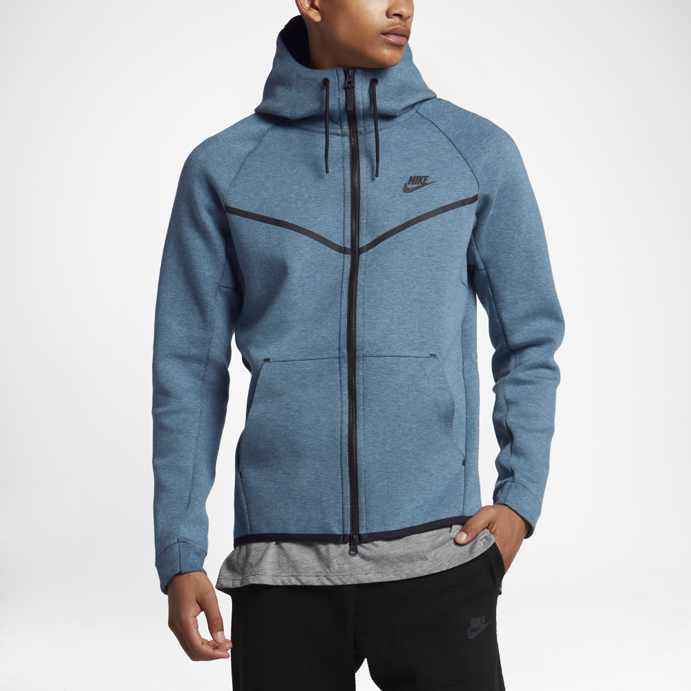 e4d27116ed80 Nike Sportswear Tech Fleece Windrunner Men s Hoodie Size Medium (Blue)