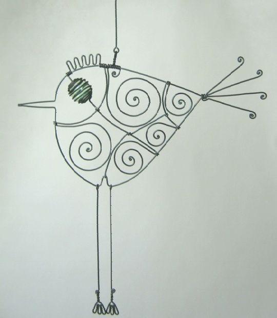 drátkování - Hledat Googlem   dratky   Pinterest   Wire art and Craft