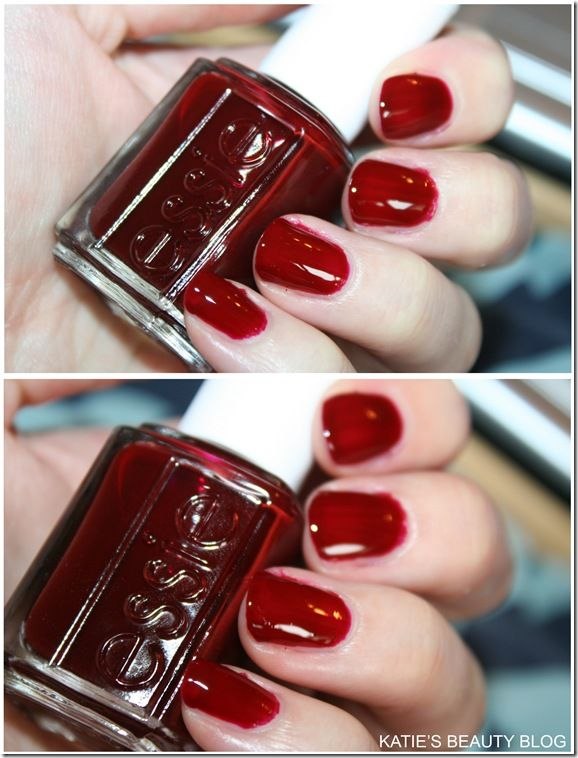essie Reds, Bordeaux in \