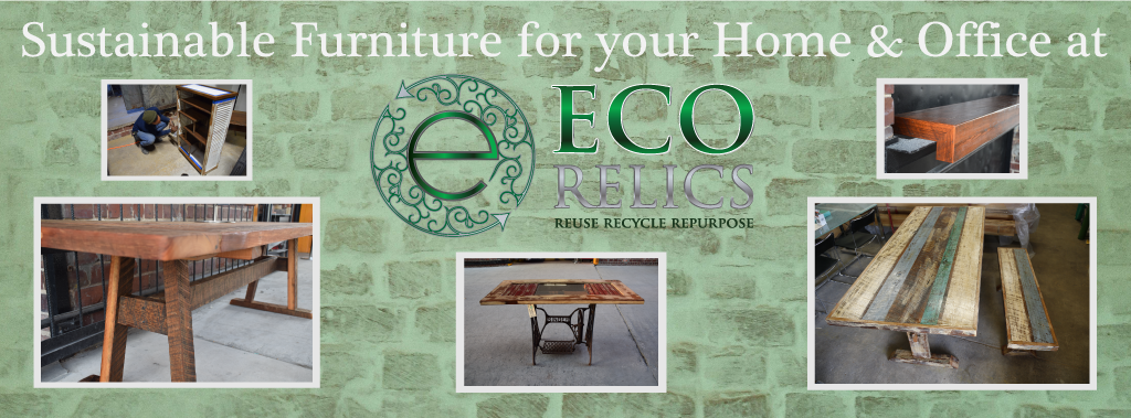 Sustainable Furniture For Your Green Home And Office At Eco Relics