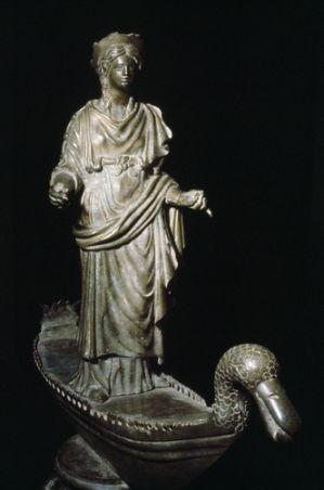 Archaeology Sequana Celtic Goddess Of Healing And The Patroness Of The Tribe Sequanii Mythologie Celtique Celte Celtique