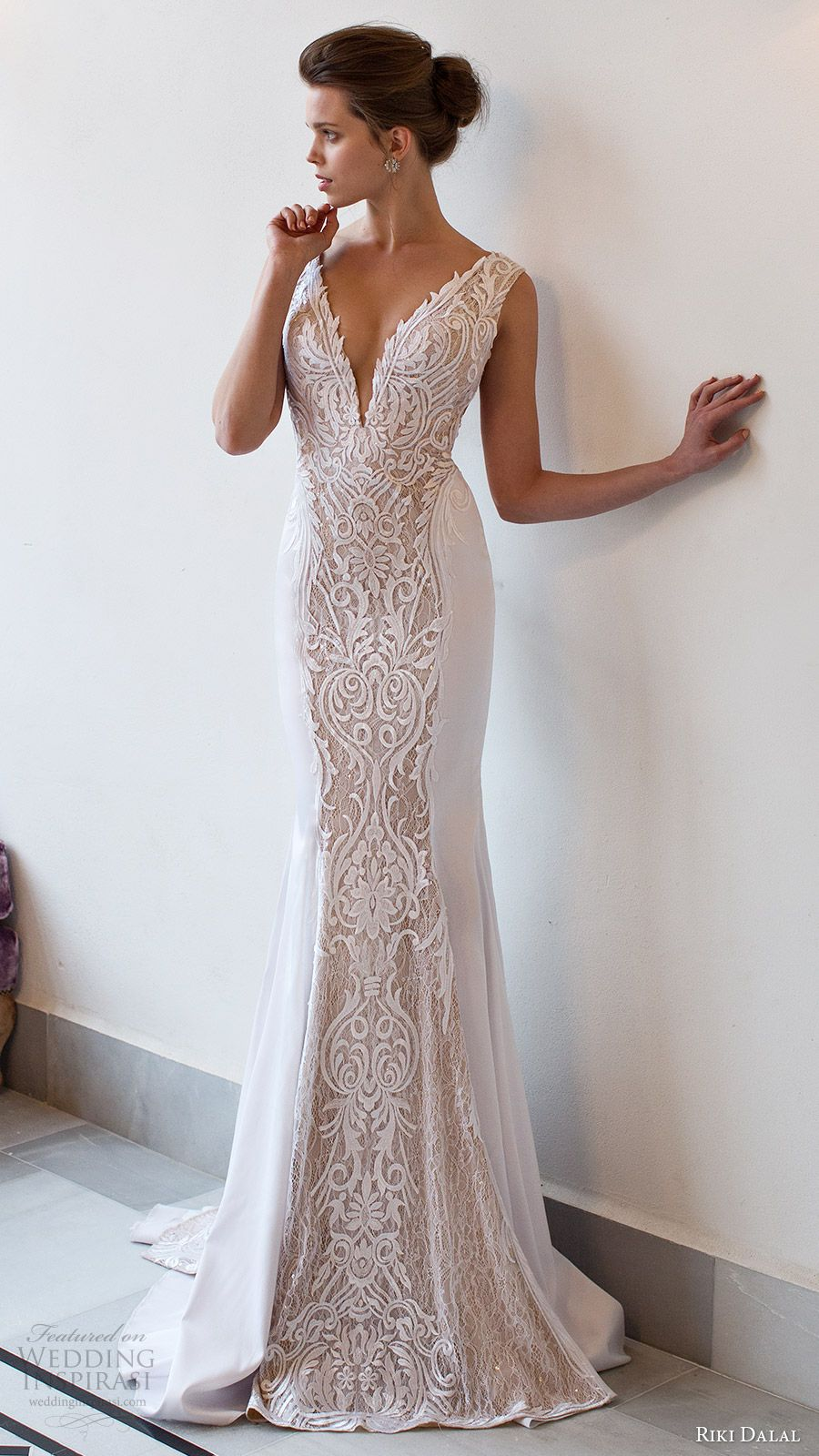 Riki Dalal 2016 Wedding Dresses Verona Bridal Collection Wedding Inspirasi Wedding Dresses V Neck Wedding Dress 2016 Wedding Dresses