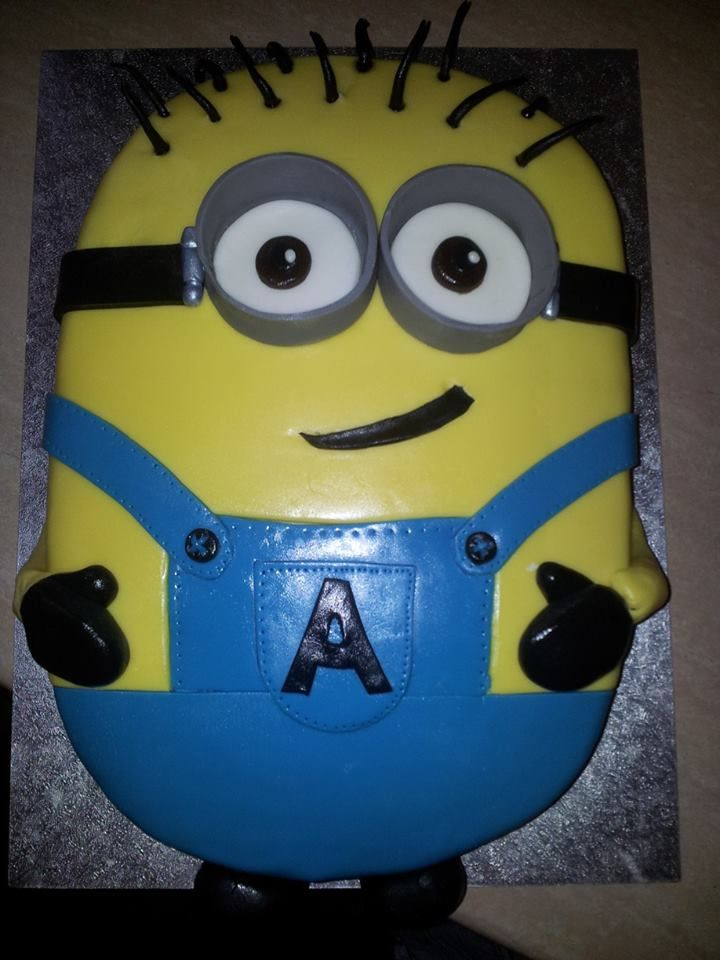 minion birthday cake for my cousins not so little boy on birthday cake little boy