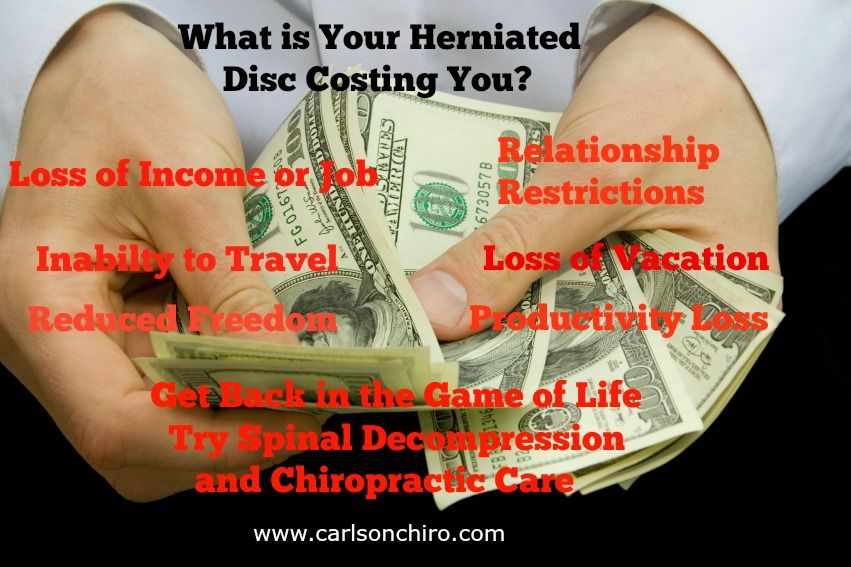 Austin What is Your Herniated Disc Costing You? People