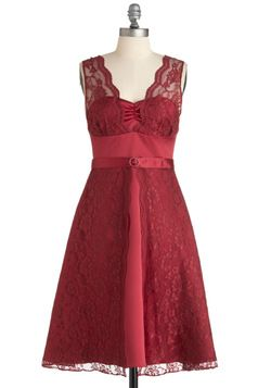 Such a Jewel Tone For You Dress, #ModCloth  Couldn't this be the perfect Valentine's Day dress?!
