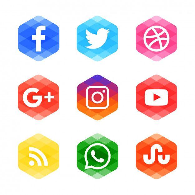 Modern Social Media Icons In 2020