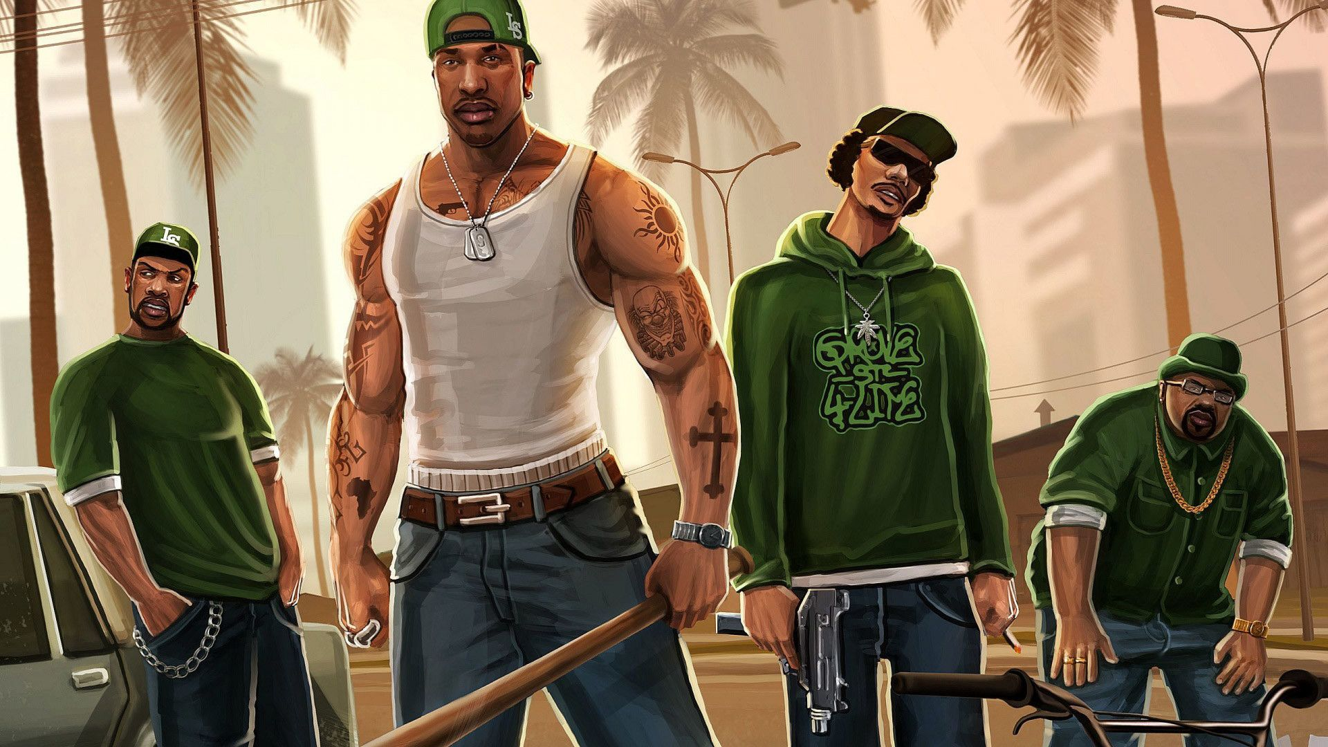 Grand Theft Auto San Andreas Wallpapers 55 Images Di 2020