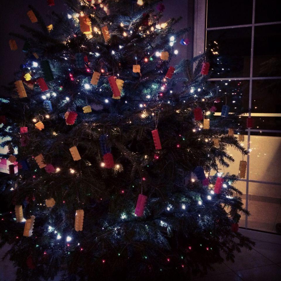 Lego christmass tree tominik pinterest