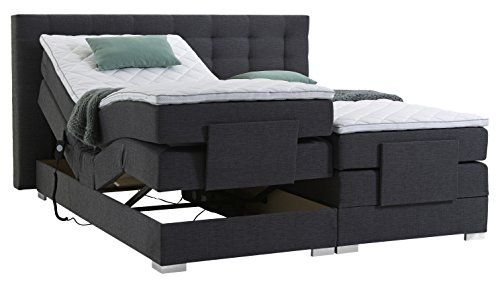 Atlantic Home Collection Mia180 01 Motor Boxspringbett Stoff