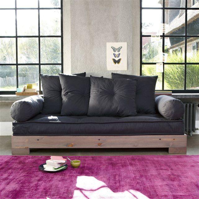 banquette lit la redoute fly banquette lit bon march canape lit bz banquette canape convertible. Black Bedroom Furniture Sets. Home Design Ideas