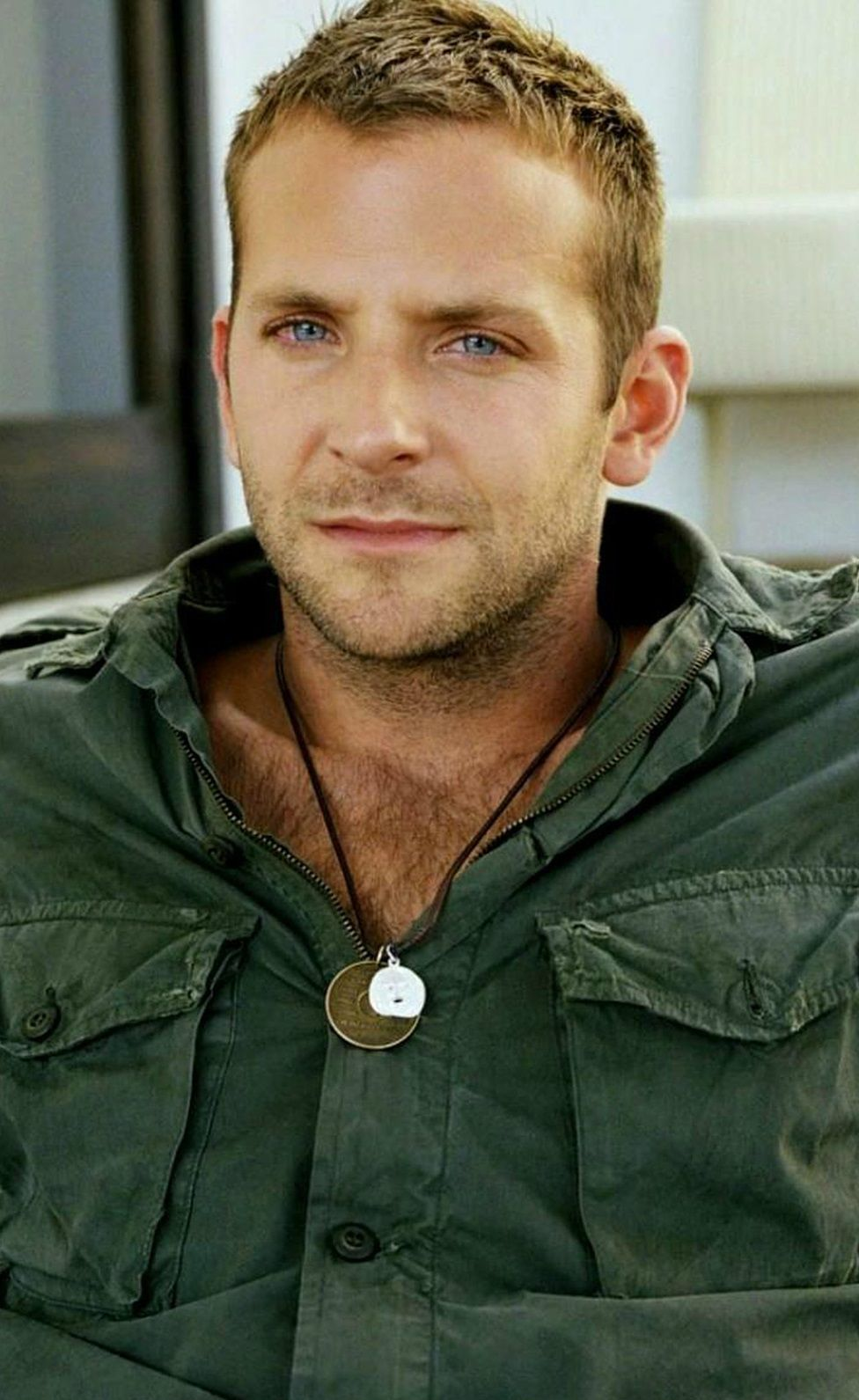 bradley cooper..i like the buzz cut best! | just for me