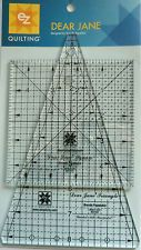 Dear Jane Square /& Triangle Acrylic Quilting Template