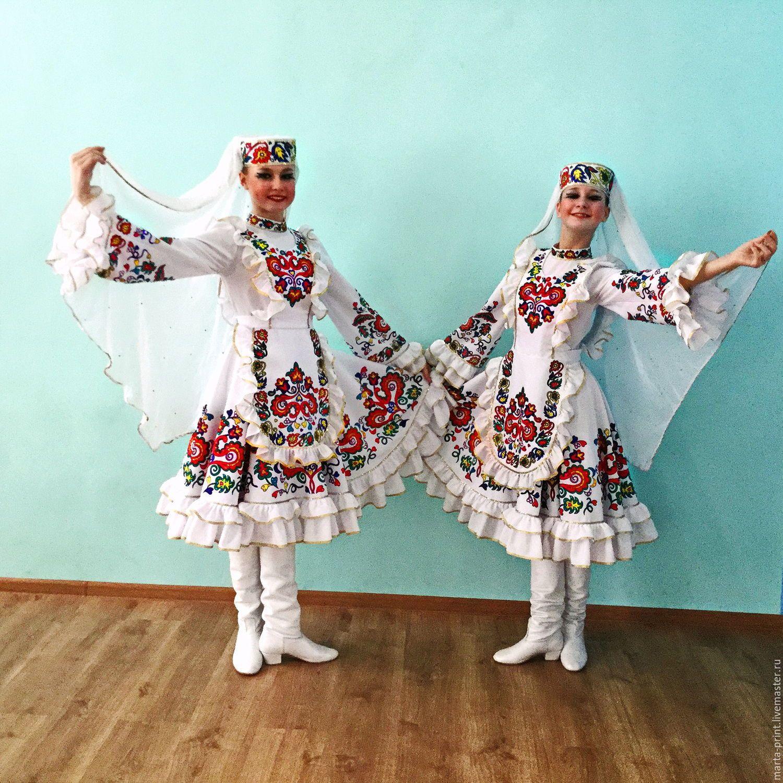 татарские национальные одежды фото магическое поверье