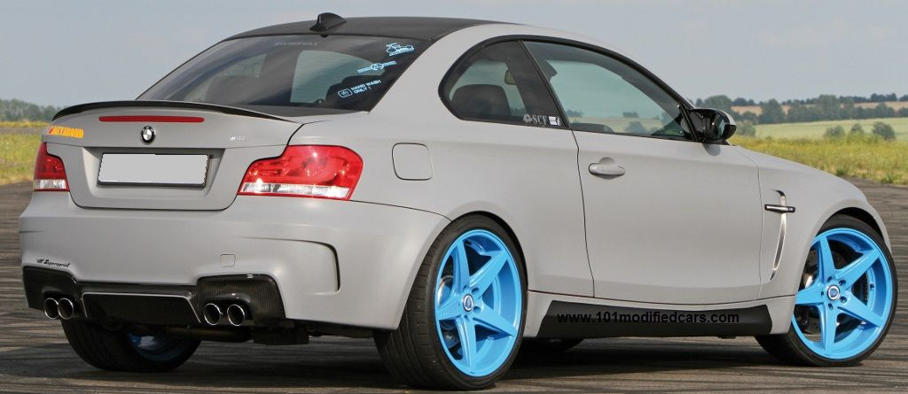 Modified Bmw 1 Series 135i M Coupe 2013 1m Coupe E82 With Rear