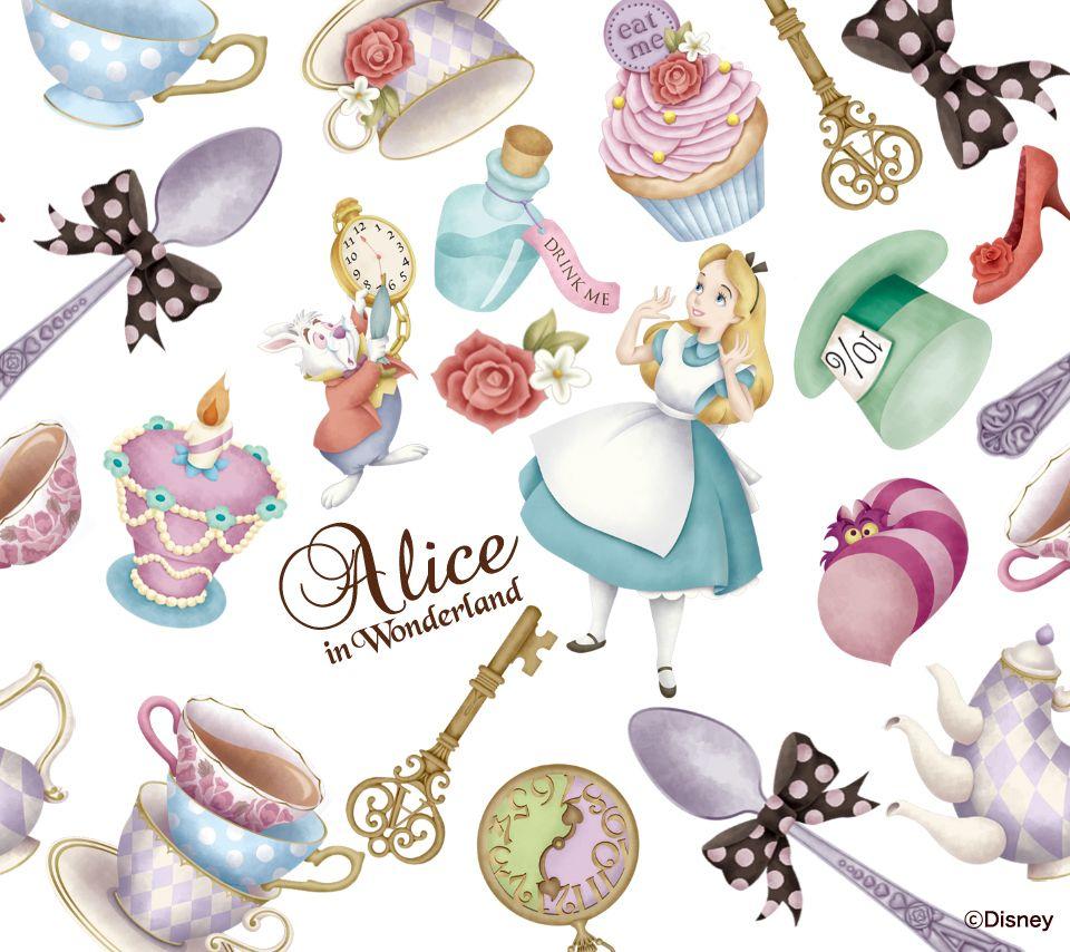 壁紙 アリス Alice In Wonderland ディズニーダウンロード アリス アリス イラスト ディズニーアート