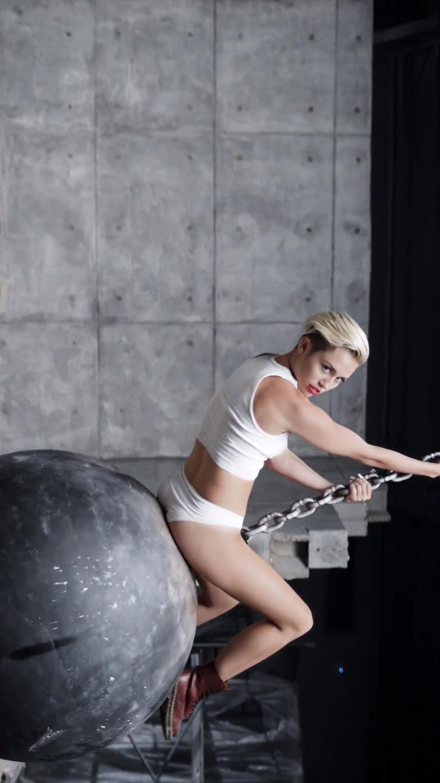 Miley Cyrus Wrecking Ball Terry Richardson Miley Cyrus Miley Terry Richardson