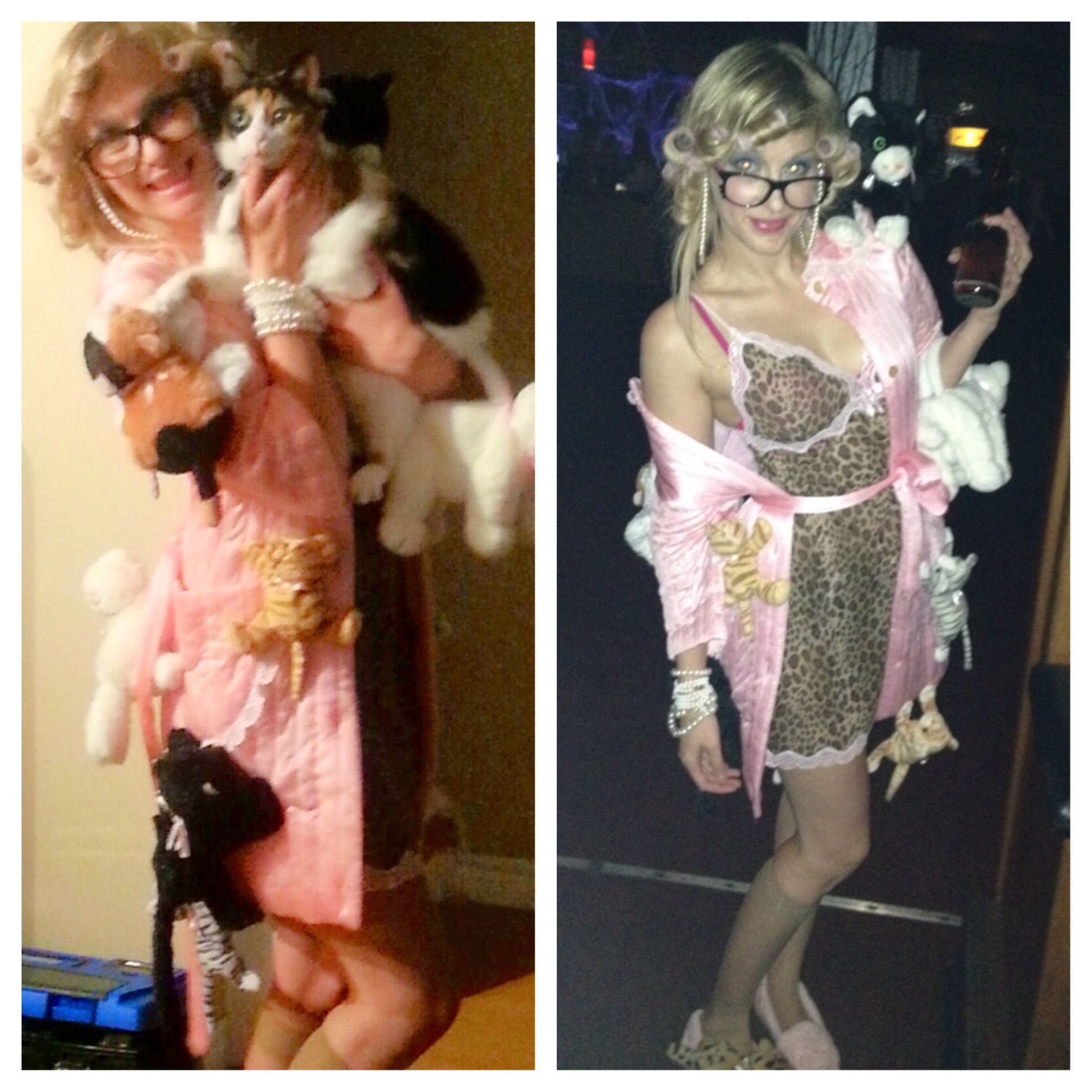 Crazy Cat Lady Costume - Halloween 2013. There is no link ...