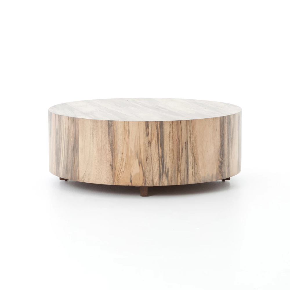 Hudson Coffee Table In Various Materials Round Coffee Table