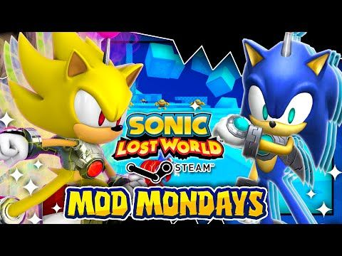 Sonic Lost World Virtual Sonic & Gameland! - Mod Mondays & GIVEAWAY
